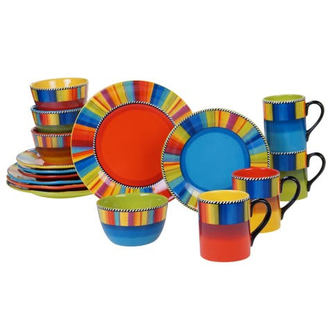 Certified International Sierra 16-piece Dinnerware Set (Service for 4)