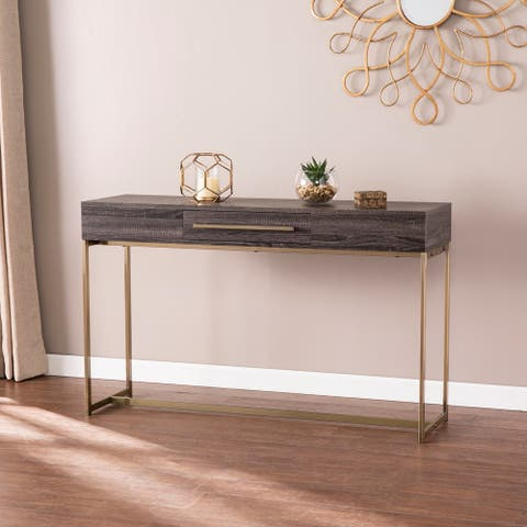 Carbon Loft Akela Transitional Console Table with Storage