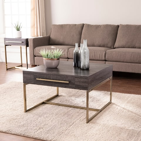 Carbon Loft Akela Square Coffee Table with Storage