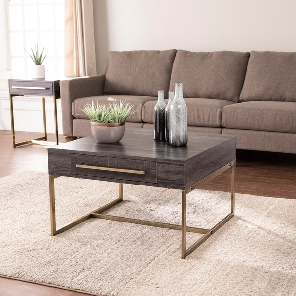 Carbon Loft Akela Square Coffee Table with Storage. Opens flyout.