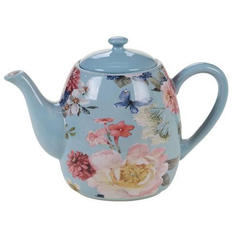 Certified International Spring Bouquet 40 oz. Teapot