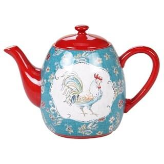 Certified International Morning Bloom 40 oz. Teapot