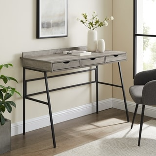 Link to Carbon Loft 42-inch 3-Drawer Writing Desk Similar Items in Desks & Computer Tables