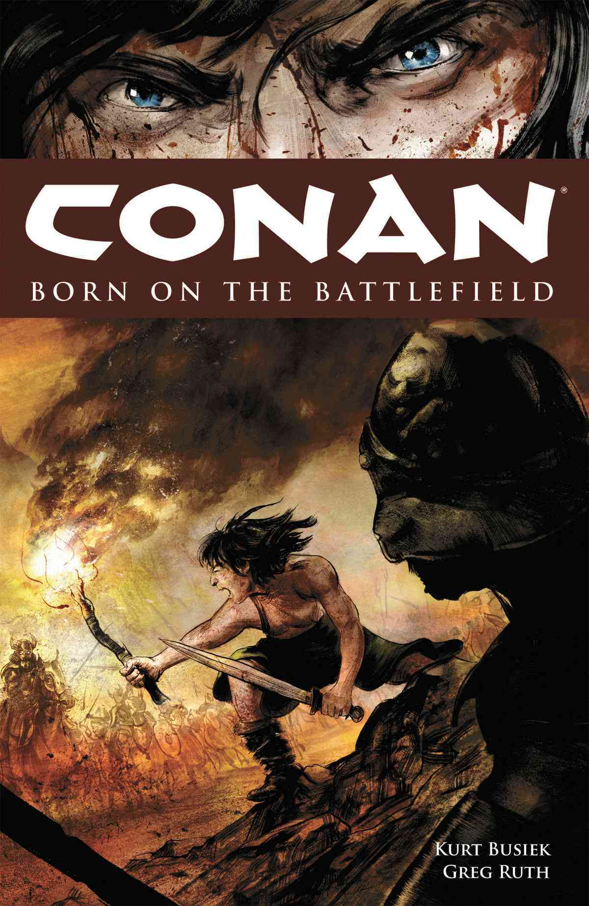 Conan: Born on the Battlefield (Paperback) - Thumbnail 0