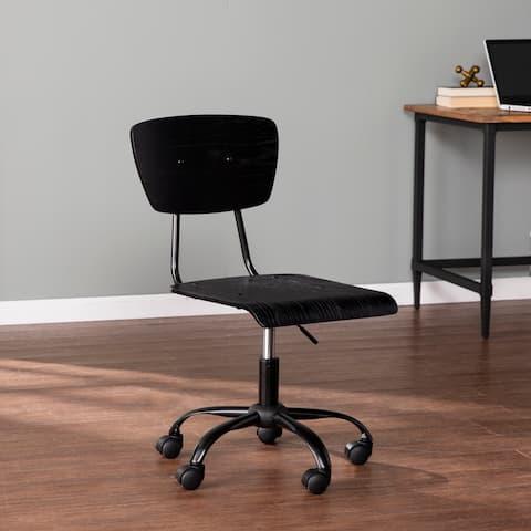 Porch & Den Kirkford Rolling Office Chair