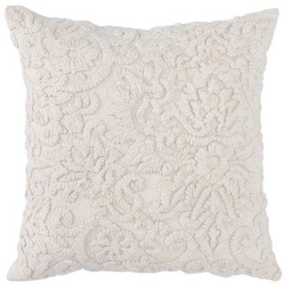 Kosas Home Joie Alsea Embroidered 20-inch Throw Pillow