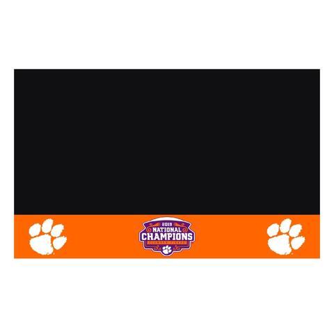 FANMATS 2019-20 Clemson College Football National Champions Vinyl Grill Mat