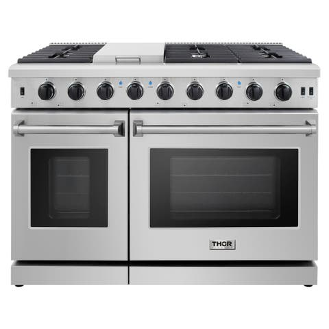 48-inch Stainless Steel Professional Gas Range