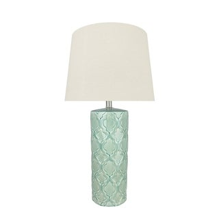 """Link to Aspen Creative 29.5"""" Sea Green Glass Table Lamp Similar Items in Table Lamps"""