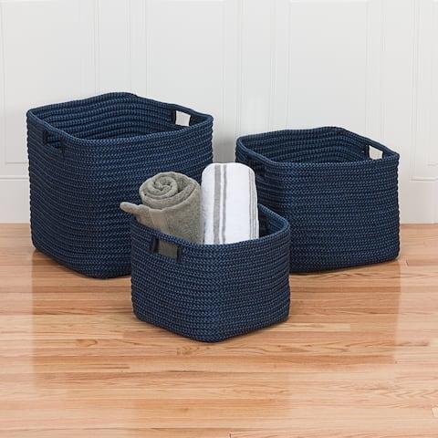 Colonial Mills Carter Indoor Outdoor Polypropylene Basket