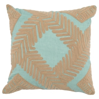 Kosas Home Kemp 100% Linen 22-inch Throw Pillow