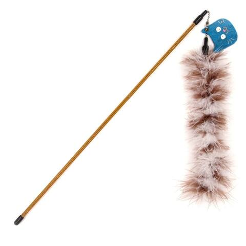 Touchcat Tail-Feather Designer Wand Cat Teaser