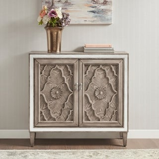 Link to Madison Park Eliana Natural 2 -Door Accent Cabinet Similar Items in Living Room Furniture