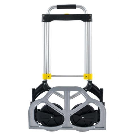 2121G Oversized Luggage Cart Black