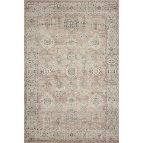 Alexander Home Venetian Persian Distressed Area Rug