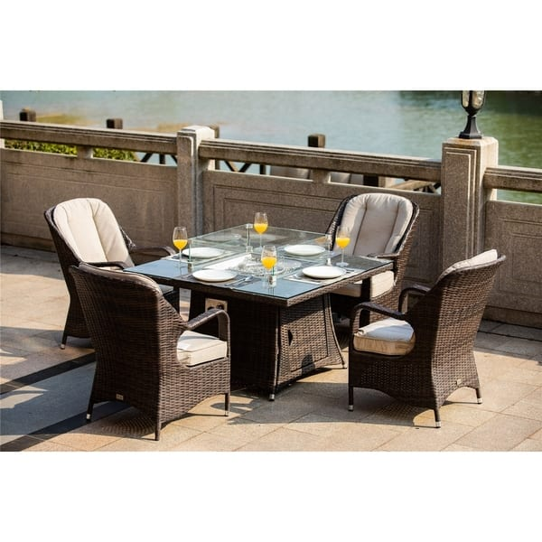 Outdoor Barbecue Table And Chair