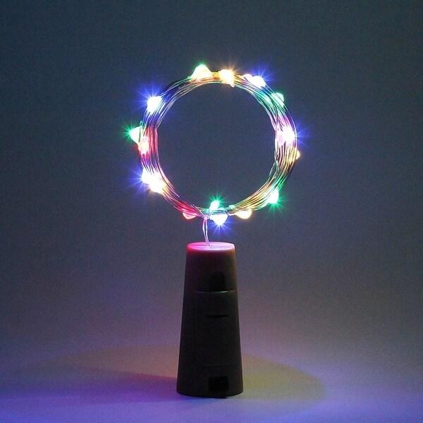 2m 20 LED Mini Bottle Stopper Lamp String Bar Decoration String Light