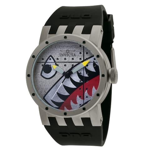Invicta Men's 11651 'DNA' Black Polyurethane Watch