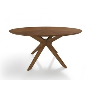"""Link to Modrest Prospect Modern Large 59"""" Round Walnut Dining Table Similar Items in Dining Room & Bar Furniture"""