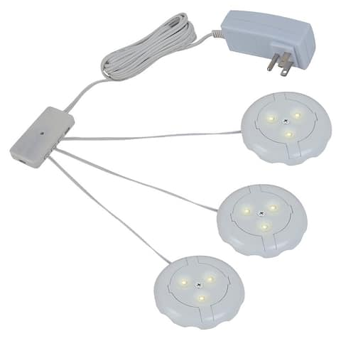 Sea Gull 3-light 2700K LED Disk Kit