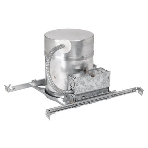 Sea Gull 6-inch New Construction IC Recessed Housing with Quick Connects