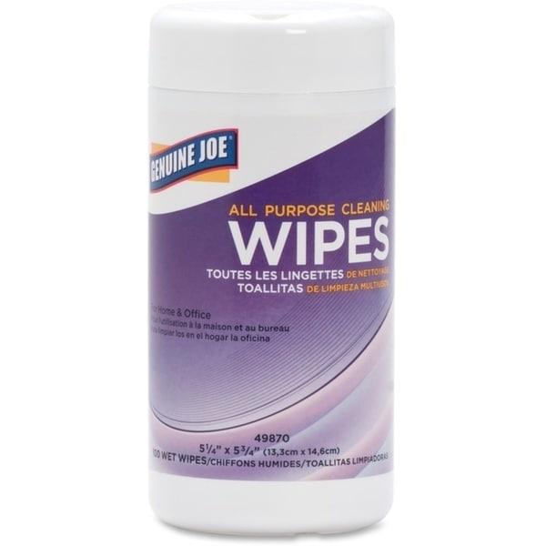 Genuine Joe All Purpose Cleaning Wipe. Opens flyout.