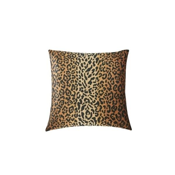 RSVP Home By Steven Stolman Tartan Plaid & Leopard Cotton Reversible 18 x 18 Throw Pillow