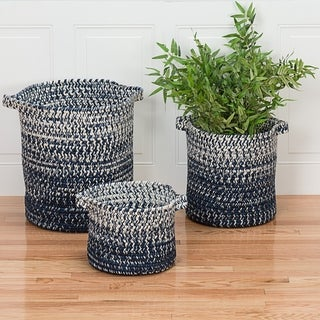 Colonial Mills Monet Ombre  Indoor Outdoor Polypropylene Soft Braided Basket