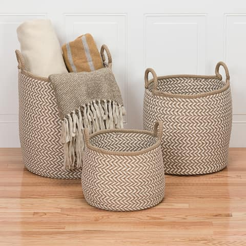 Colonial Mills Preve Indoor Outdoor Polypropylene Soft Braided Basket