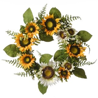 """Link to 22"""" Sunflower Wreath Similar Items in Decorative Accessories"""