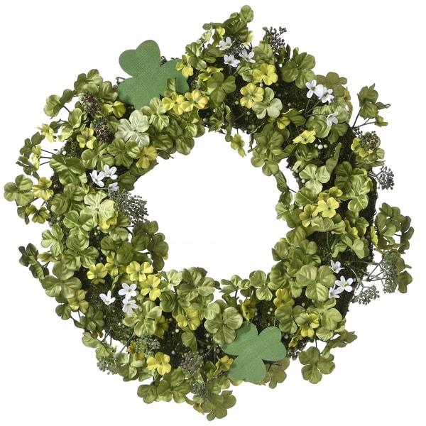 "20"" Shamrock Wreath"