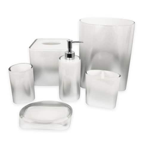 Luster 6 pcs bath accessories set - multi size