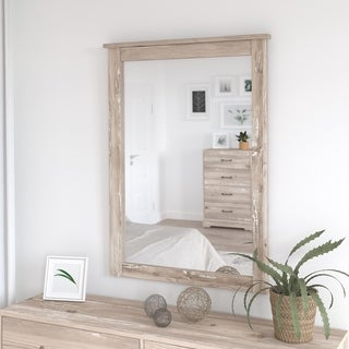 River Brook Bedroom Mirror from kathy ireland® Home by Bush Furniture