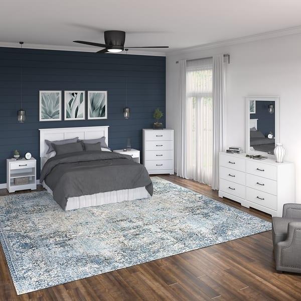 River Brook 6 Piece Full Queen Bedroom Set From Kathy Ireland Home On Sale Overstock 30689287