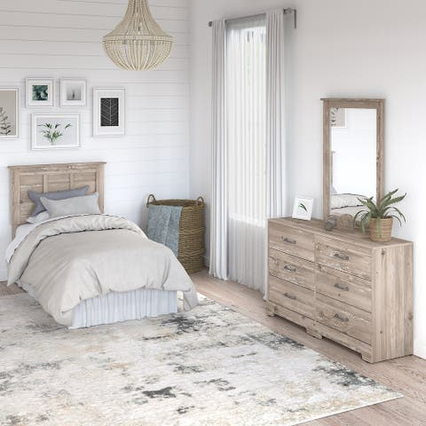 River Brook 3 Piece Twin Size Bedroom Set from kathy ireland® Home
