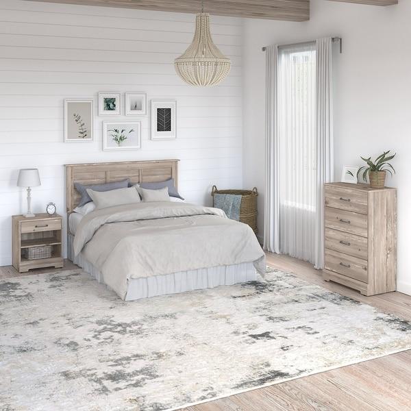 River Brook 3 Piece Full/Queen Bedroom Set from kathy ireland? Home. Opens flyout.