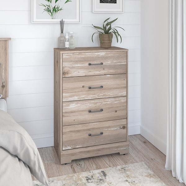 River Brook 4 Drawer Chest from Kathy Ireland. Opens flyout.
