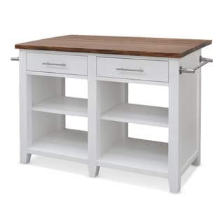 Greyson Living Hendry Counter Kitchen Island by  (White)