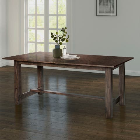 Abbyson Vicente Extending Dining Table