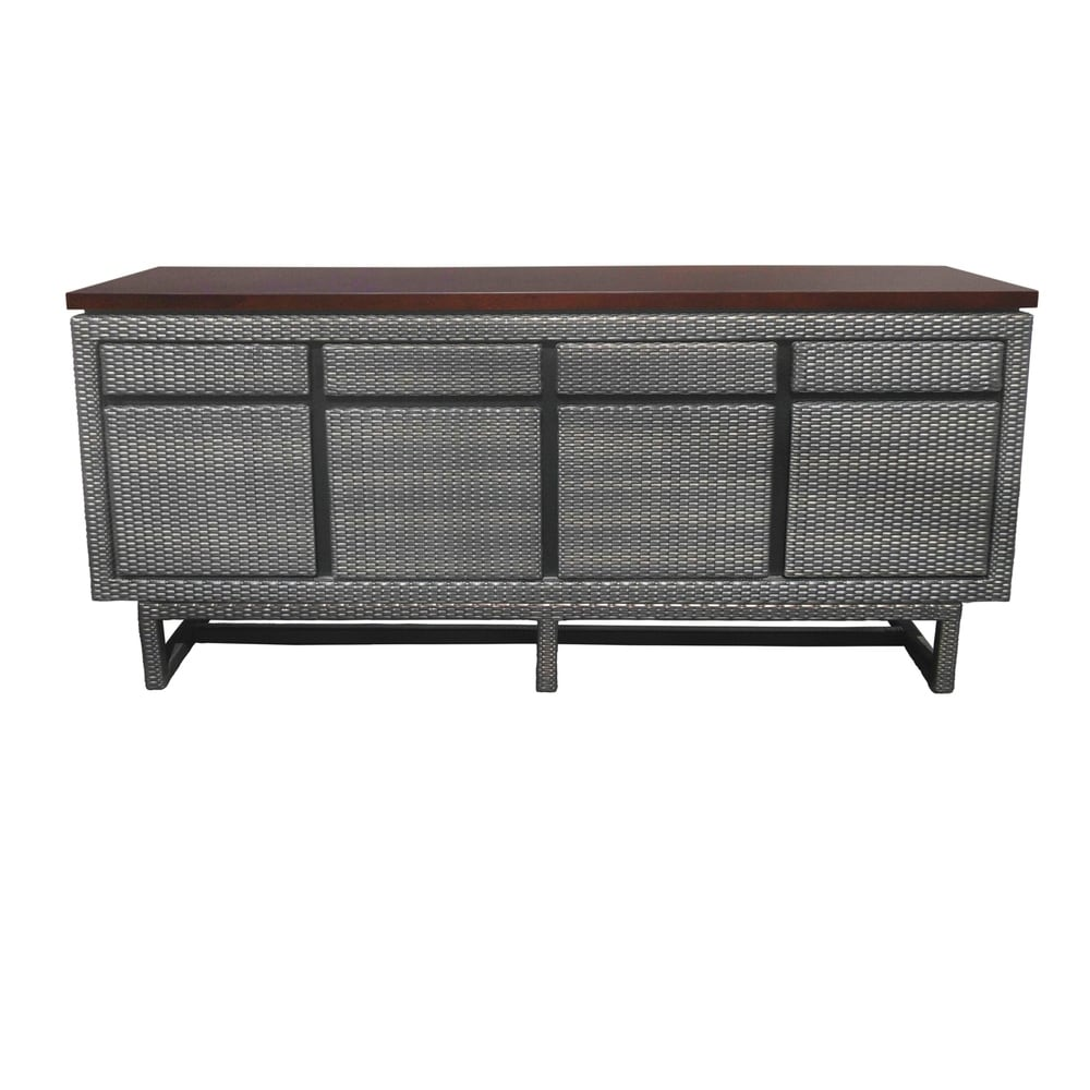 Bavarian Wooded Top 3Drw 3Dr Buffet Cabinet. Opens flyout.