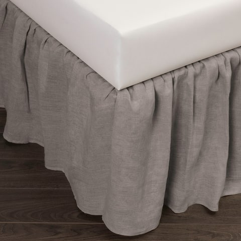 Cottage Home Sillo Linen Bed Skirt