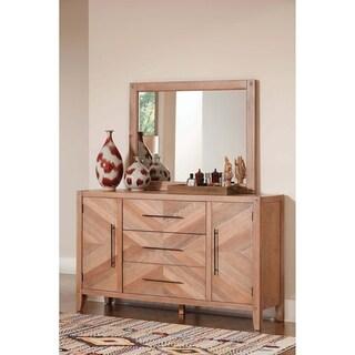 Willa White Washed Natural 3-drawer Dresser