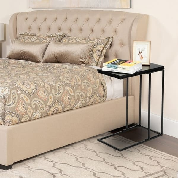 C Shaped End Table For Sofa Couch