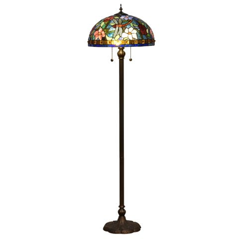 Josef Tiffany Floor Lamp