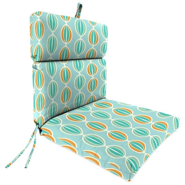 "22"" x 44"" Chair Cushion in Beaded Tangelo"
