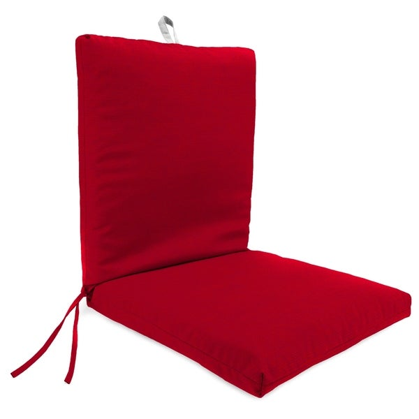 "21"" x 44"" Chair Cushion in Archer Red"
