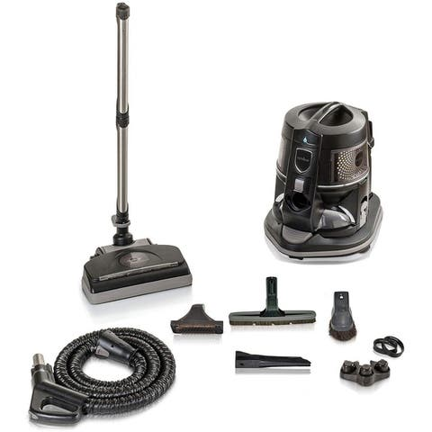 Reconditioned Genuine E2 Black Rainbow Canister Vacuum Cleaner 5YR Warranty