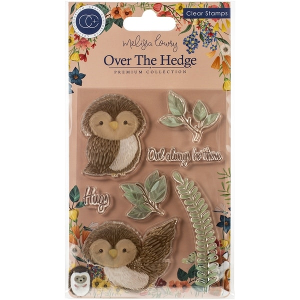 Shop Craft Consortium A5 Clear Stamps Olivia The Owl Overstock 30695705