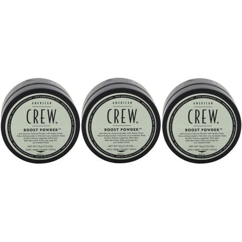 American Crew Boost Powder 0.3 Ounce Pack of 3