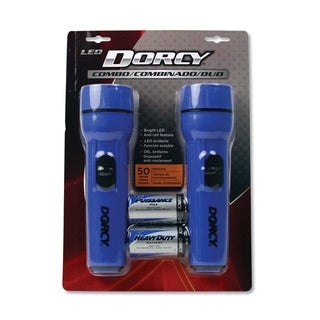 Link to Led Flashlight Pack, 1 D Battery (Included), Blue, 2/Pack Similar Items in Safety Gear